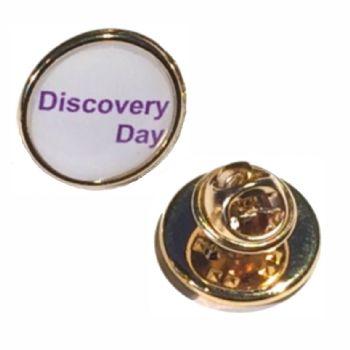 18mm premium gold badge